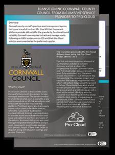 cornwall council Pro-Cloud case study