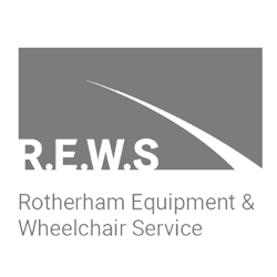 rotherham equipment wheelchair service logo