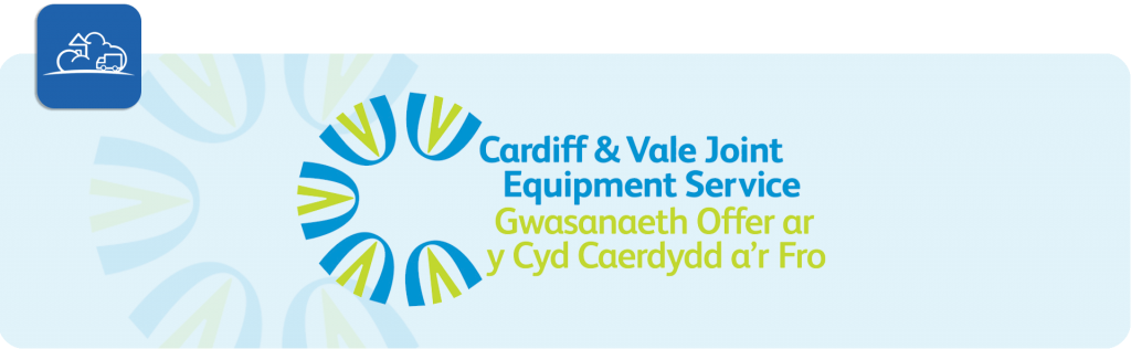 cardiff and vale joint equipment service logo