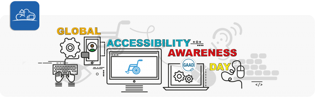 global accessibility awareness day banner