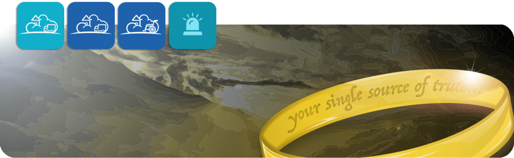 your single source of truth lord of the rings style ring