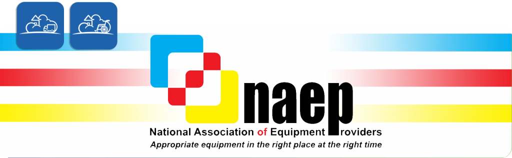 NAEP, national association of equipment providers logo