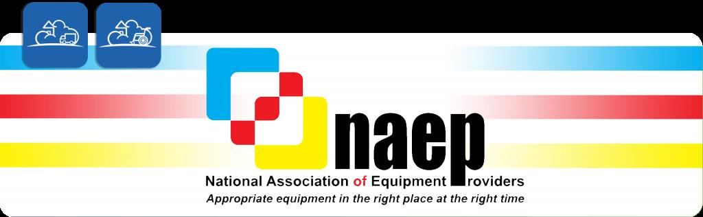 NAEP, national association of equipment providers logo