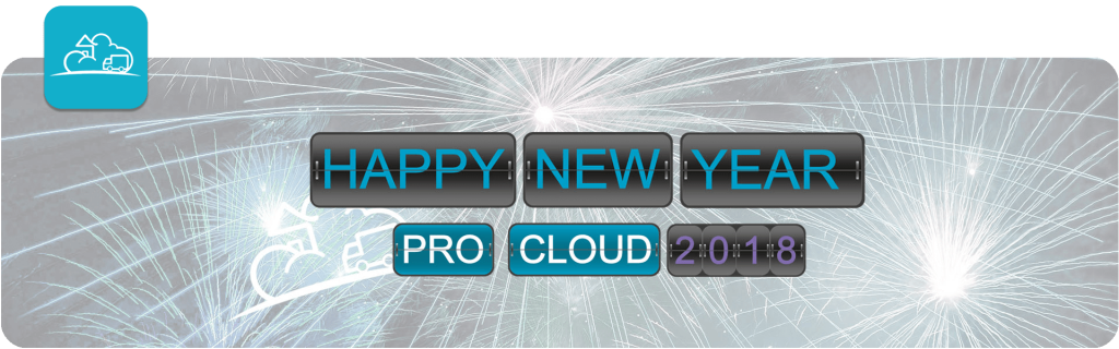 happy new year from pro0cloud 2018 banner