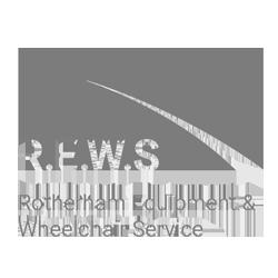 rotherham equipment wheelchair service logo