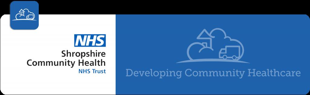 NHS Shropshire Community Health NHS trust logo