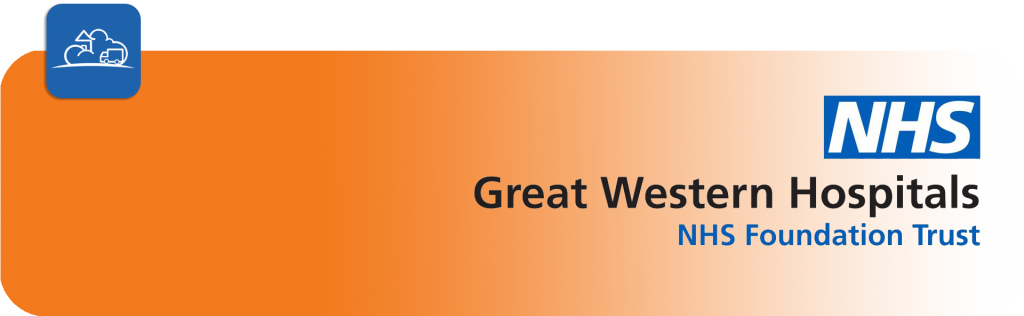 NHS great western hospitals NHS foundation trust banner