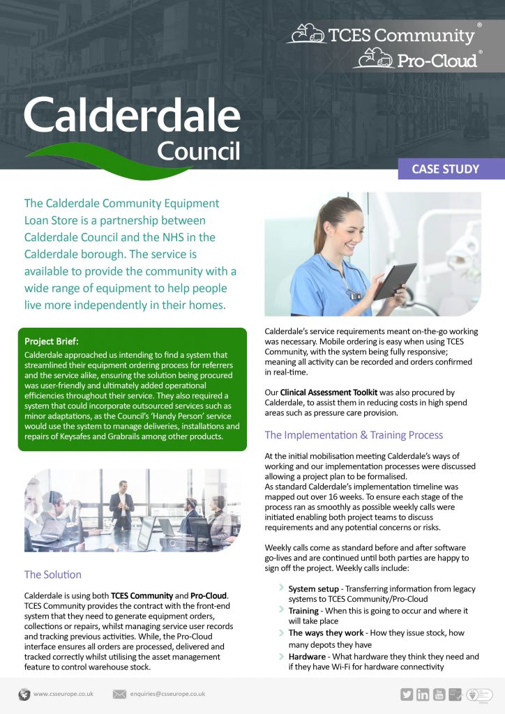 calderdale council case study page 1