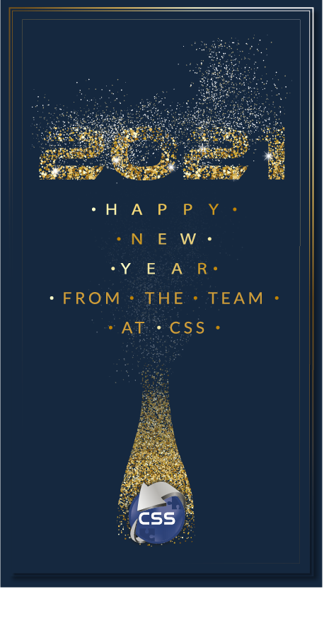 Happy New Year from the team at CSS