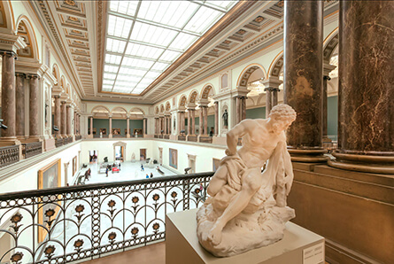 museum view