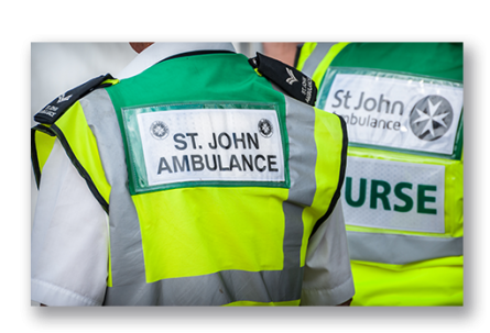 st john ambulance vest