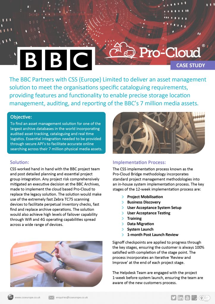 BBC Case Study page 1