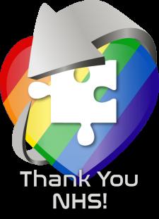 Thank You NHS - CSS Heart Logo
