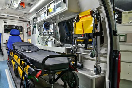 ambulance rear cabin