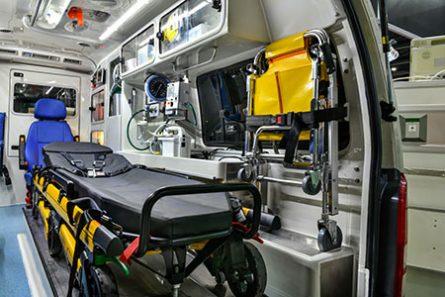 ambulance rear cabin