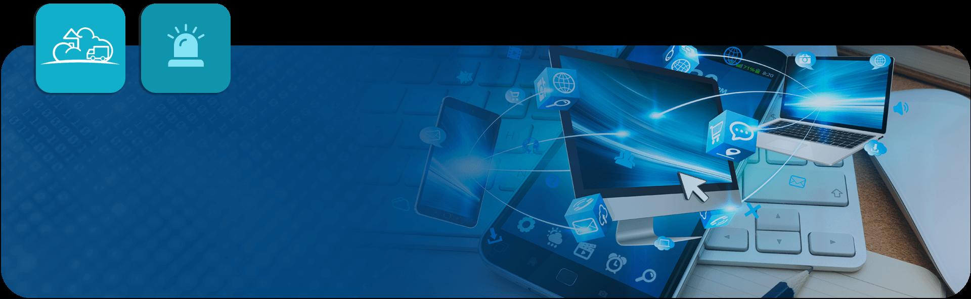 business mobile app illustration